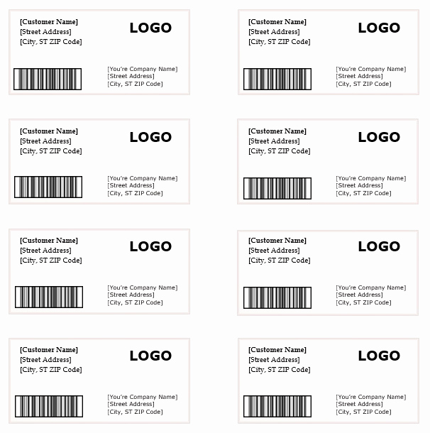 Free Shipping Label Template Elegant Shipping Label Template – Microsoft Word Templates