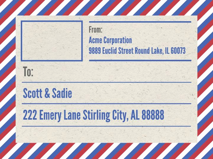 Free Shipping Label Template New Mailing & Shipping Label Templates & Examples