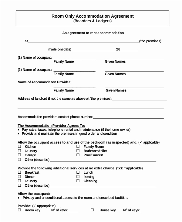 Free Simple Lease Agreement Fresh 44 Simple Rental Agreement Templates Pdf Word