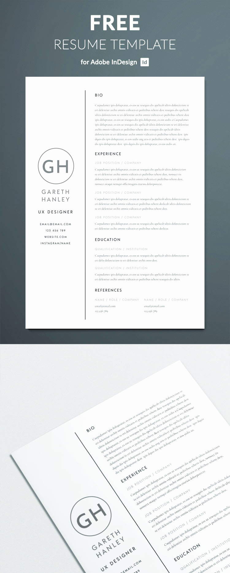 Free Simple Resume Templates Unique the Perfect Basic Resume Template