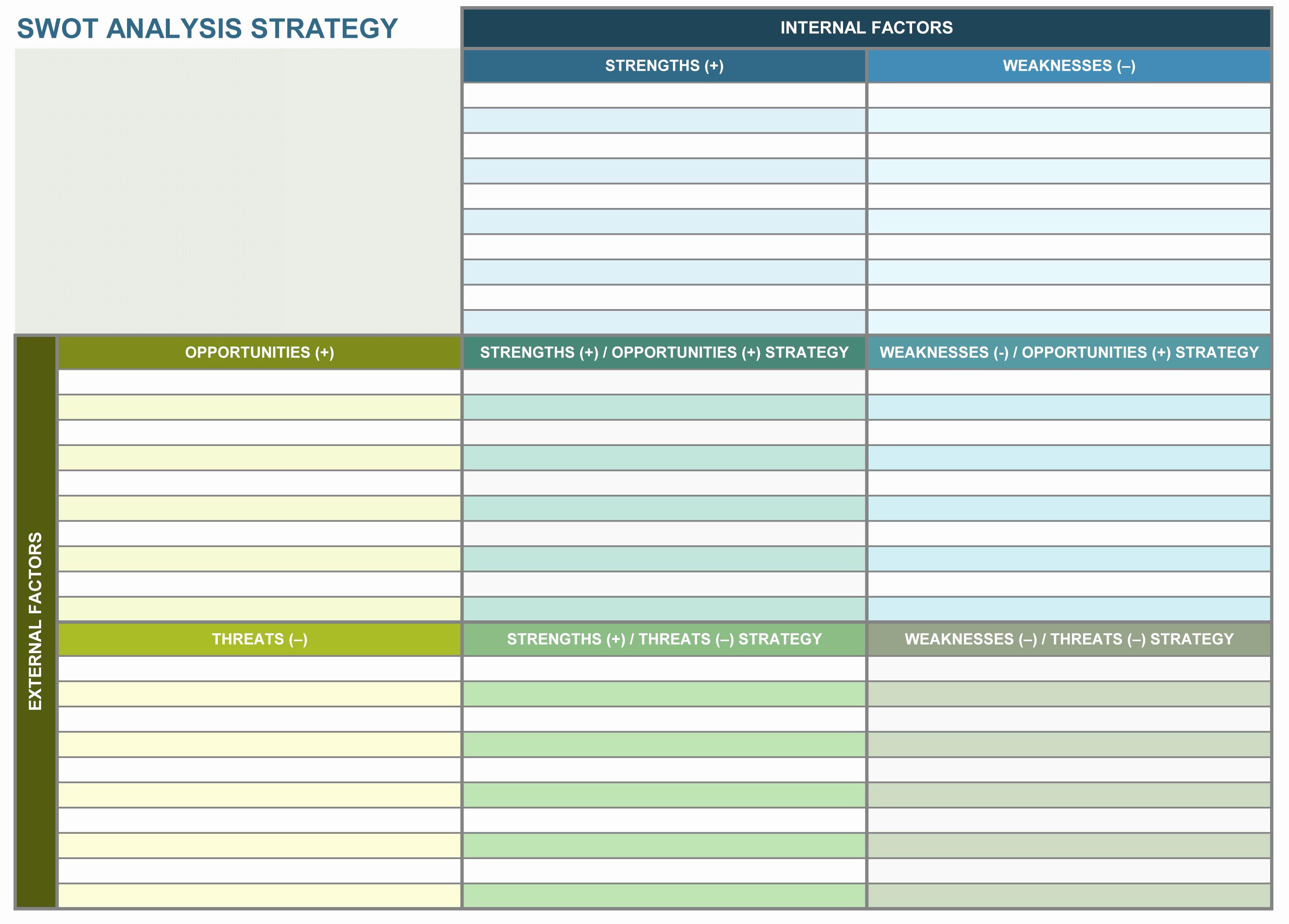 Free Strategic Plan Template Luxury 9 Free Strategic Planning Templates Smartsheet