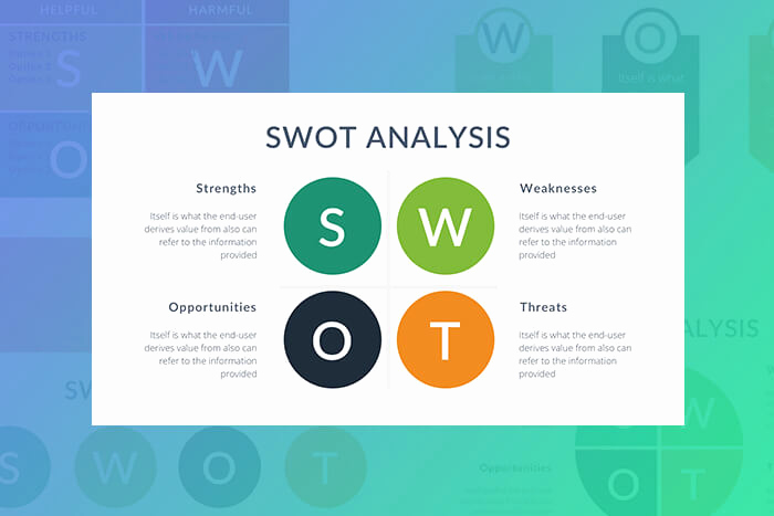 Free Swot Analysis Template Beautiful Free Swot Analysis Keynote Template Free Presentation theme