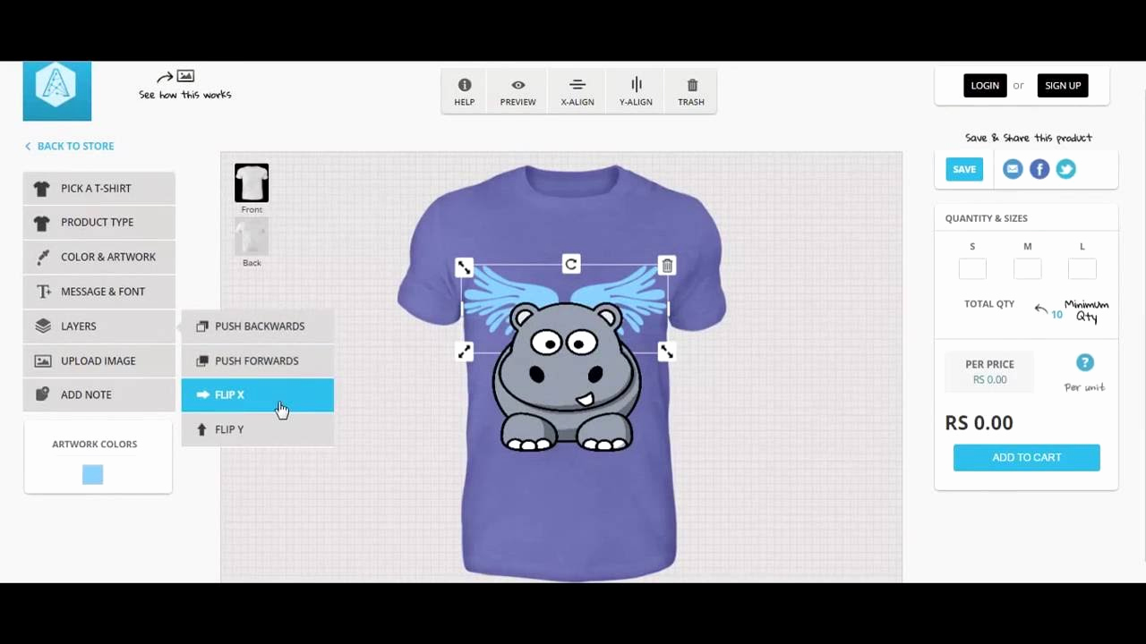 Free T Shirt Design software Inspirational HTML5 Line T Shirt Design tool Appcustomizer