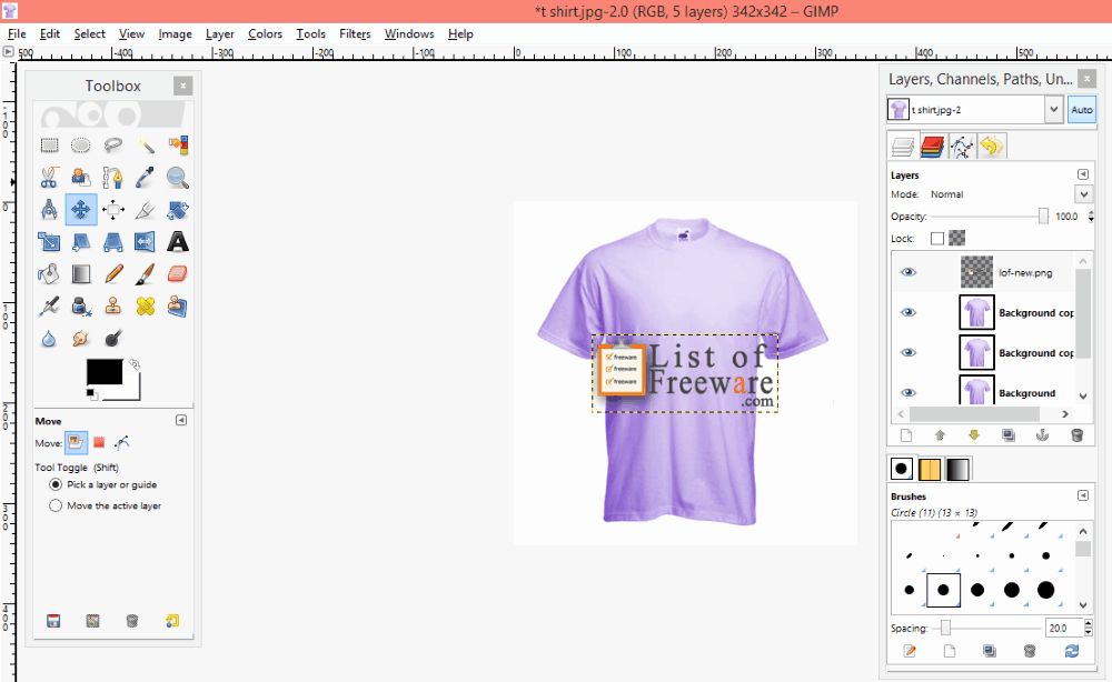 Free T Shirt Design software Lovely 6 Best Free T Shirt Design software for Windows