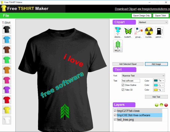 Free T Shirt Design software New Free T Shirt Maker Add Custom Text Save Design and T Shirt