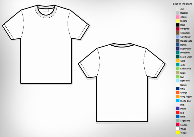 Free T Shirt Template Beautiful Men's Basic T Shirt Template