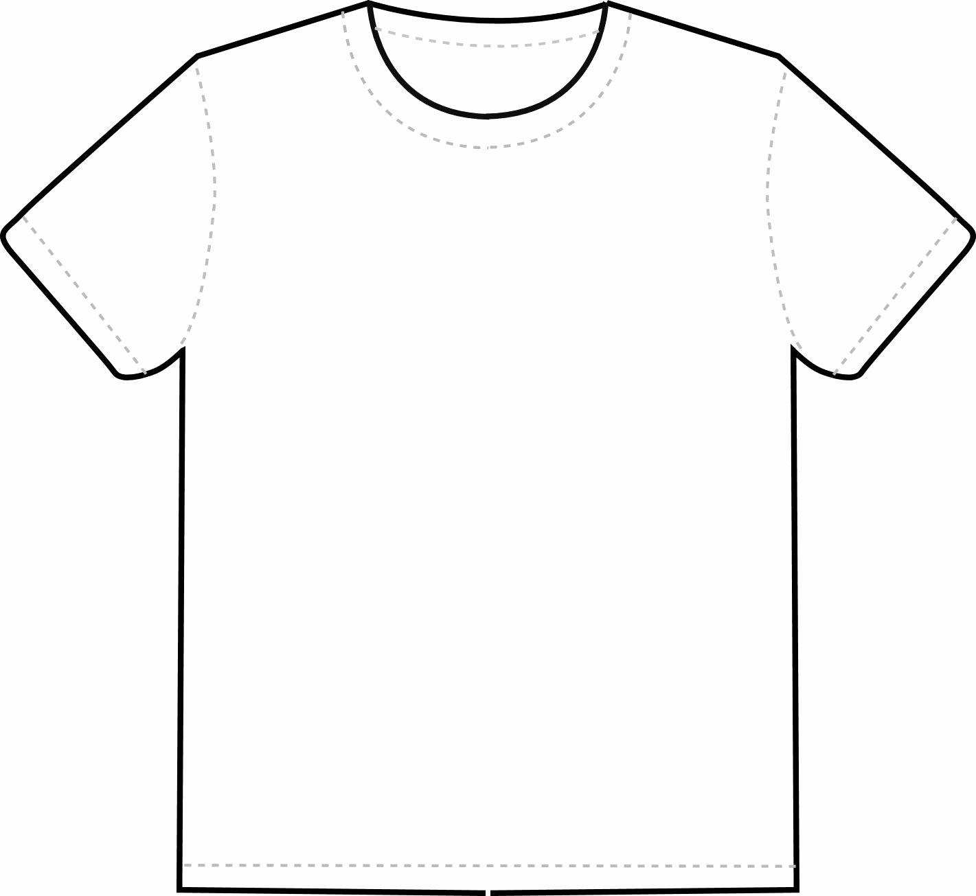 Free T Shirt Template Beautiful T Shirt Outline Clipart Clipart Best Clipart Best