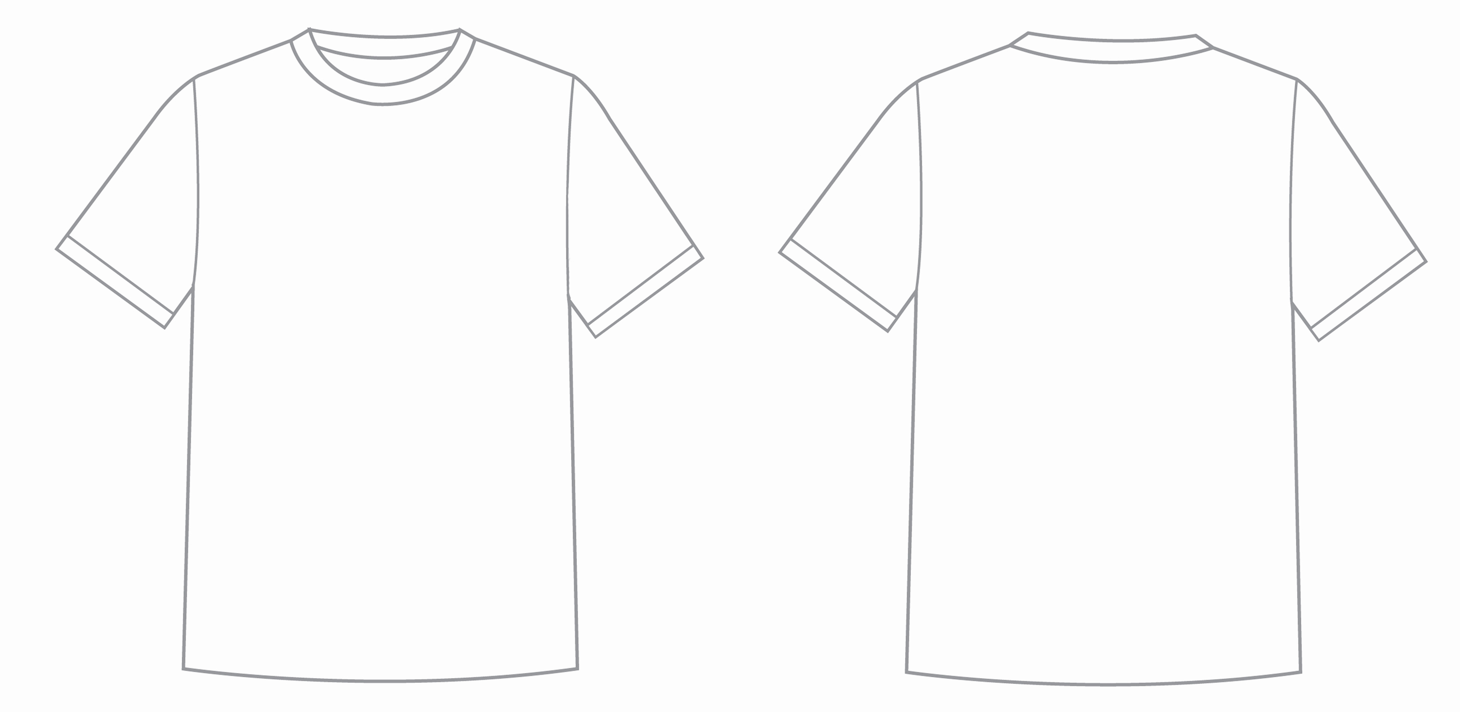 Free T Shirt Template Elegant What is T Shirt Template