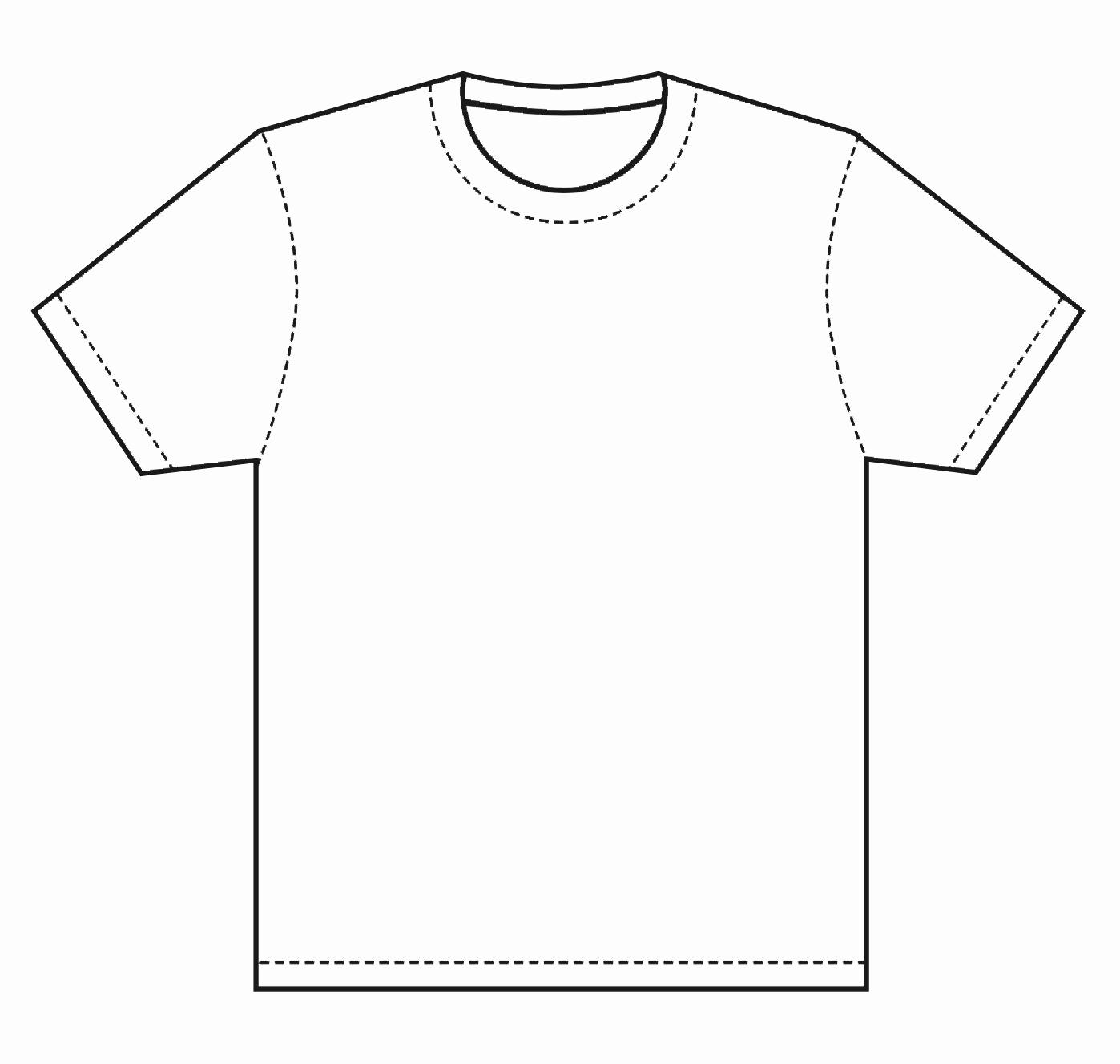 Free T Shirt Template Fresh T Shirt Template