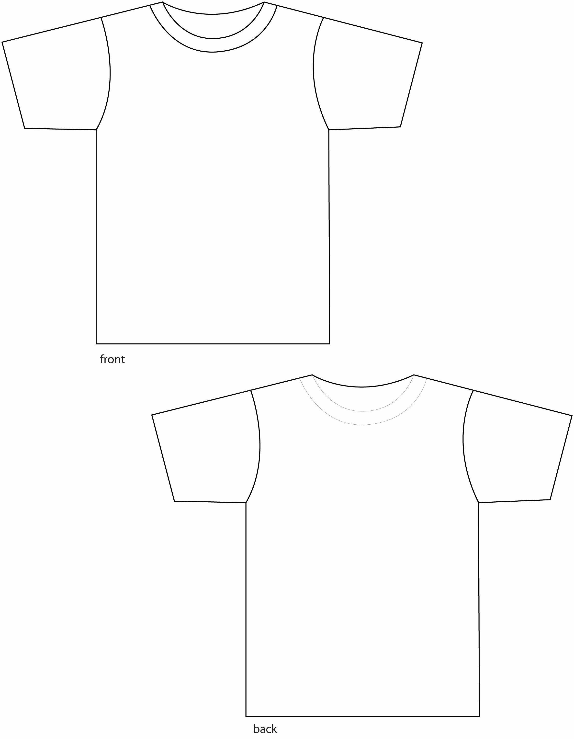 Free T Shirt Template Inspirational Free T Shirt Template Download Free Clip Art Free Clip
