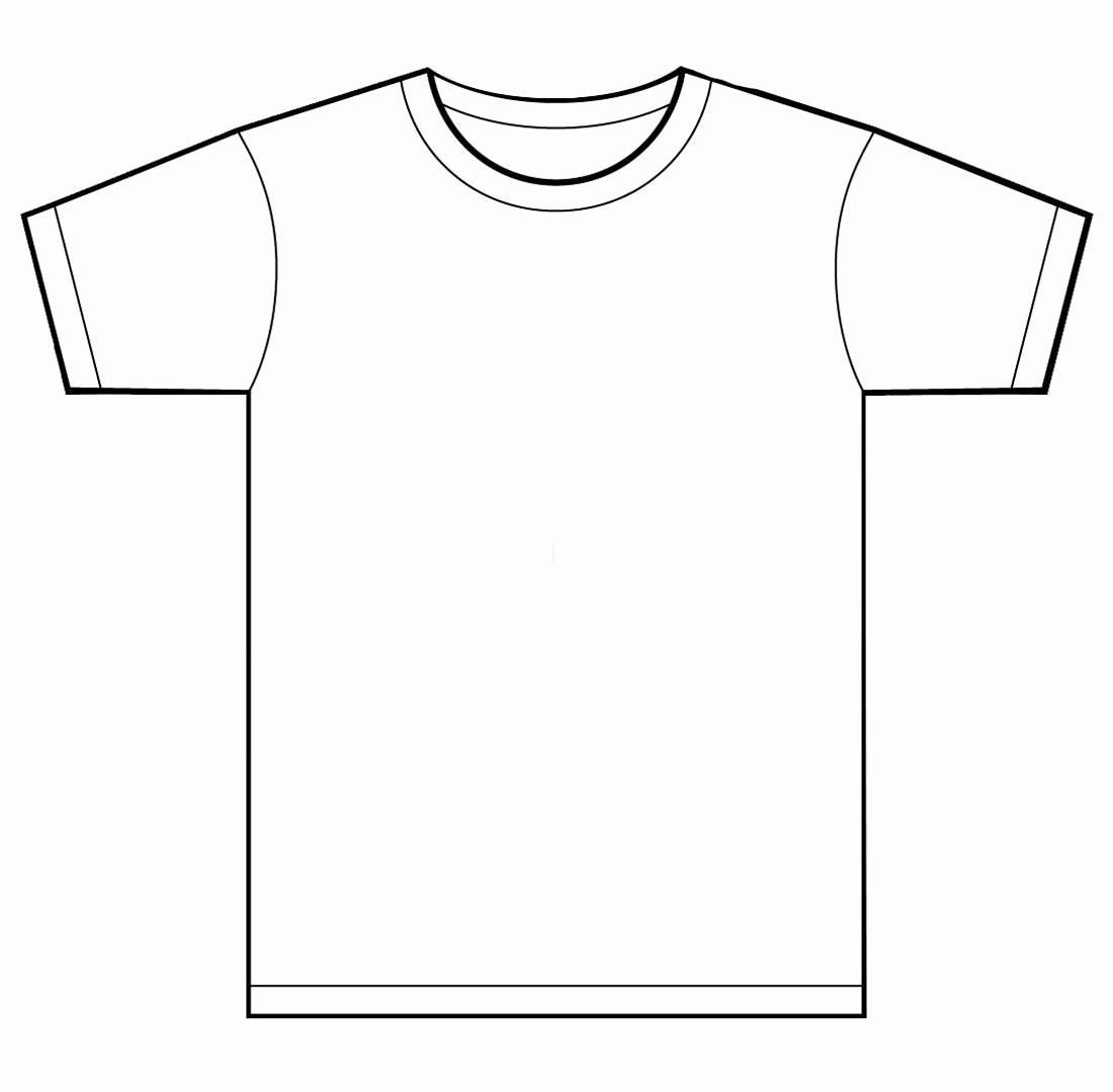 Free T Shirt Template Lovely Blank T Shirt Template