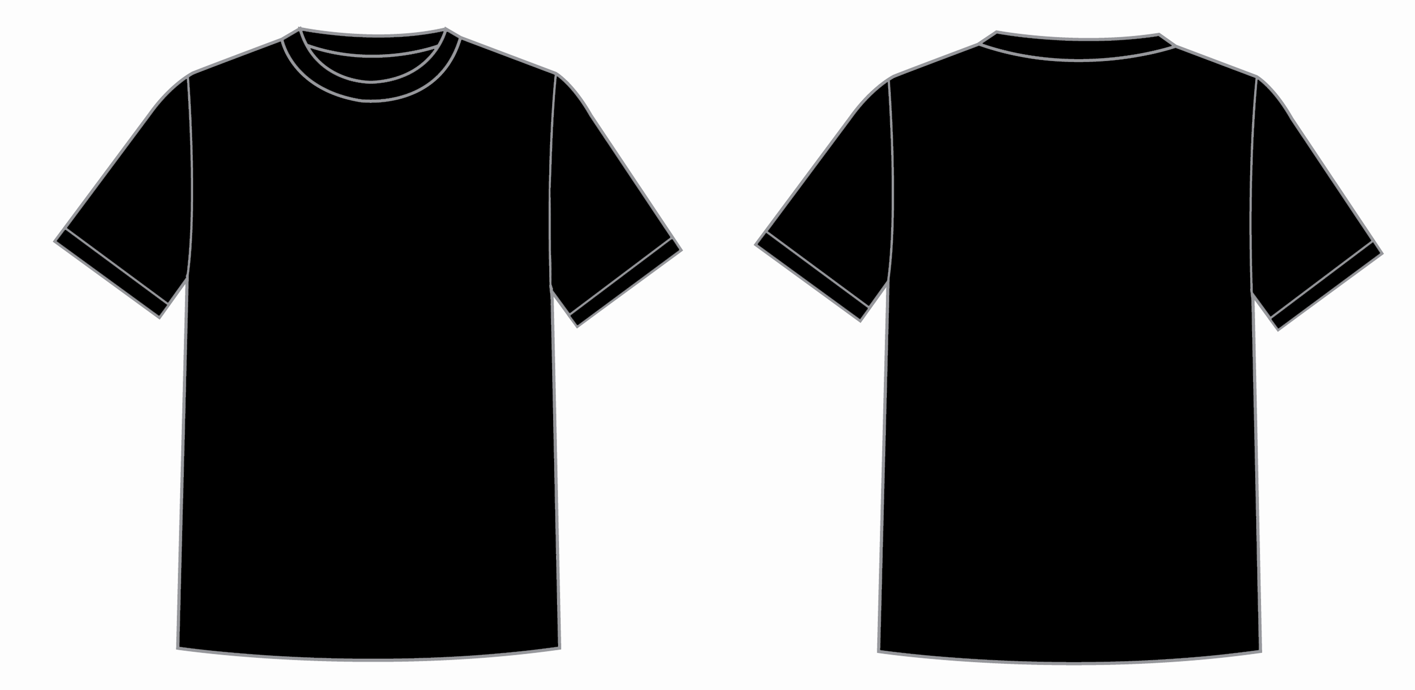 Free T Shirt Template New Free T Shirt Printing Templates Download Free Clip Art