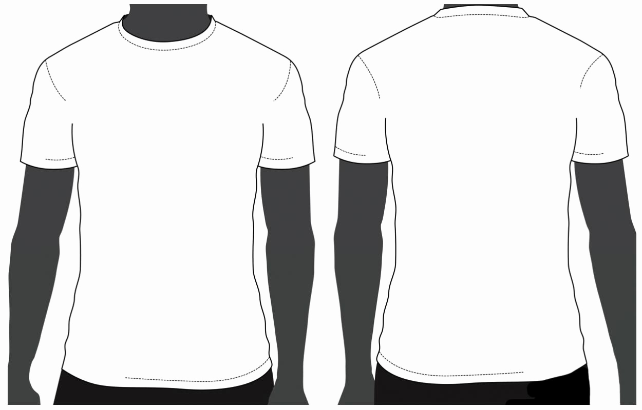 Free T Shirt Template New T Shirt Template Psd Free Download