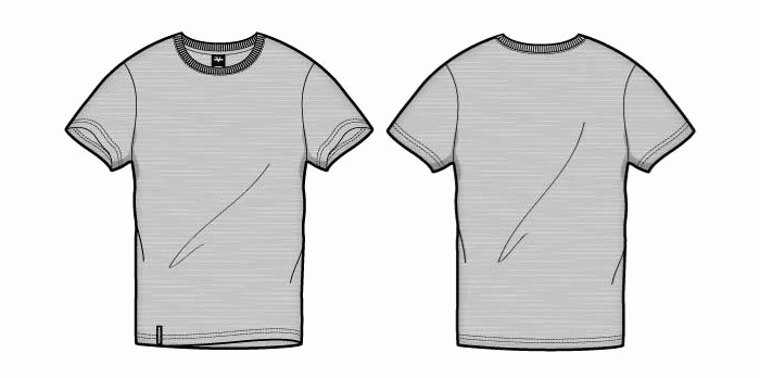 Free T Shirt Template Unique 41 Blank T Shirt Vector Templates Free to Download