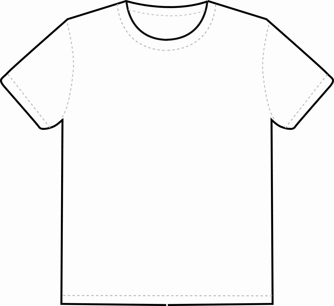 Free T Shirt Template Unique What is T Shirt Template