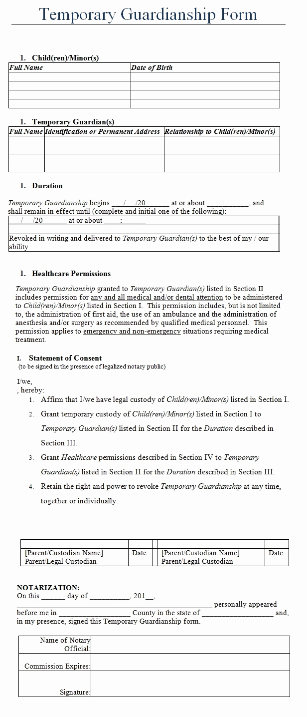 Free Temporary Guardianship form New 10 Best Eviction Notice Images On Pinterest