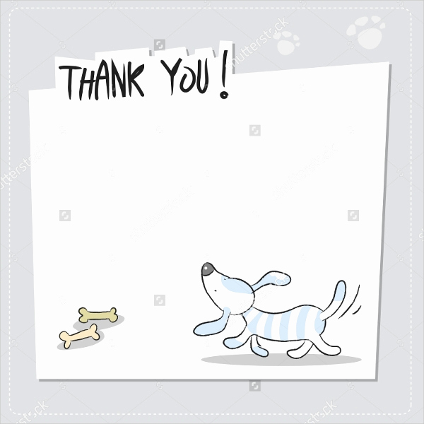 Free Thank You Card Template Awesome 11 Funny Thank You Cards Free Eps Psd format Download