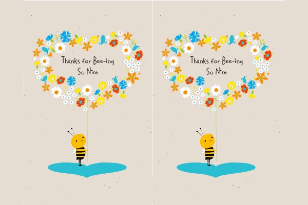 Free Thank You Card Template Awesome 35 Free Thank You Card Templates Psd Ai Vector Eps