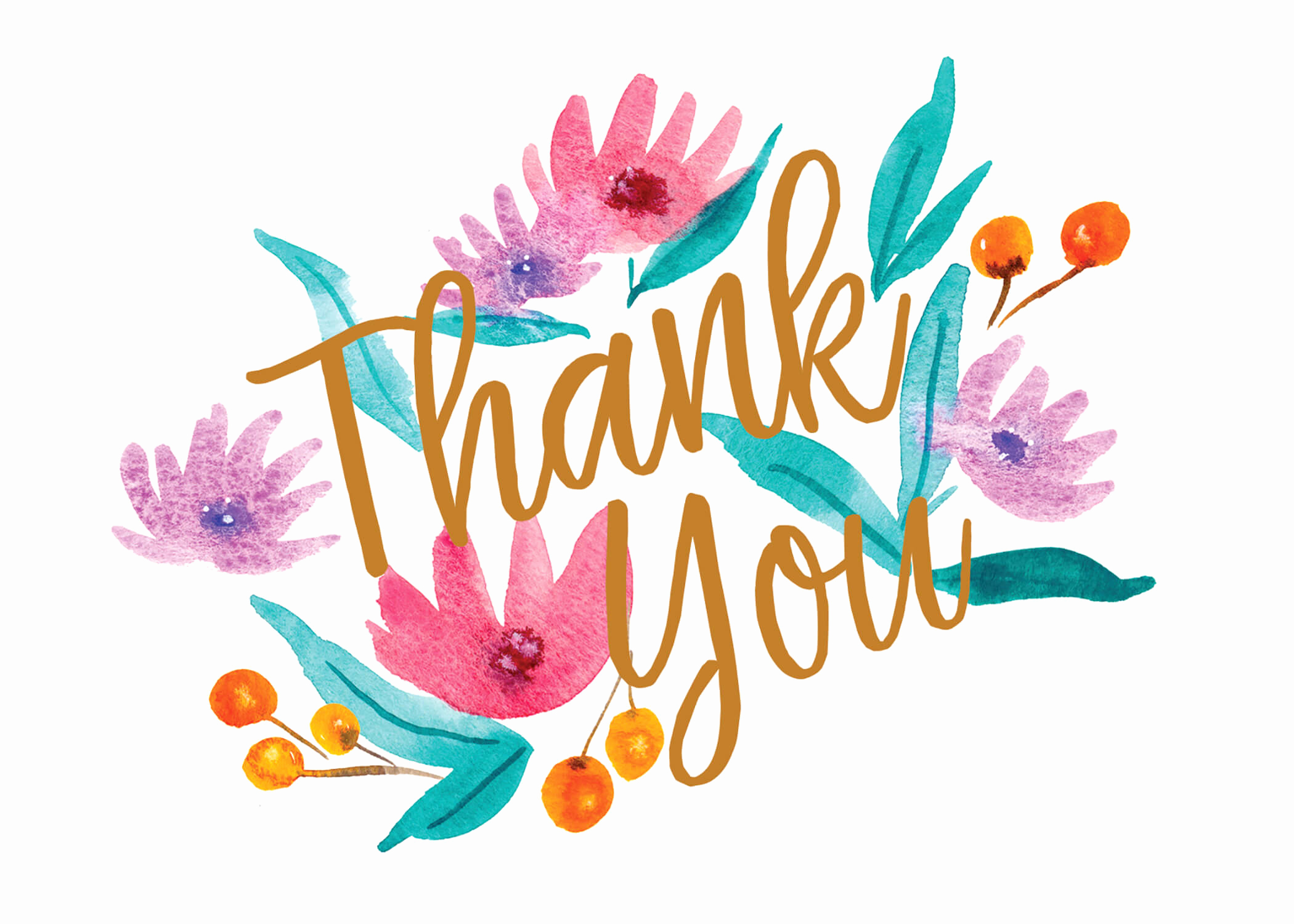 Free Thank You Card Template Awesome soft Flowers Thank You Card Template Free