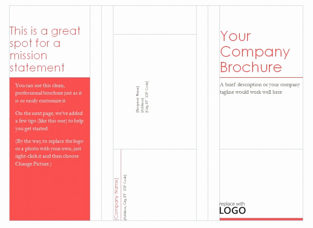 Free Tri Fold Brochure Template Lovely Patible with Avery Tri Fold Brochure Template