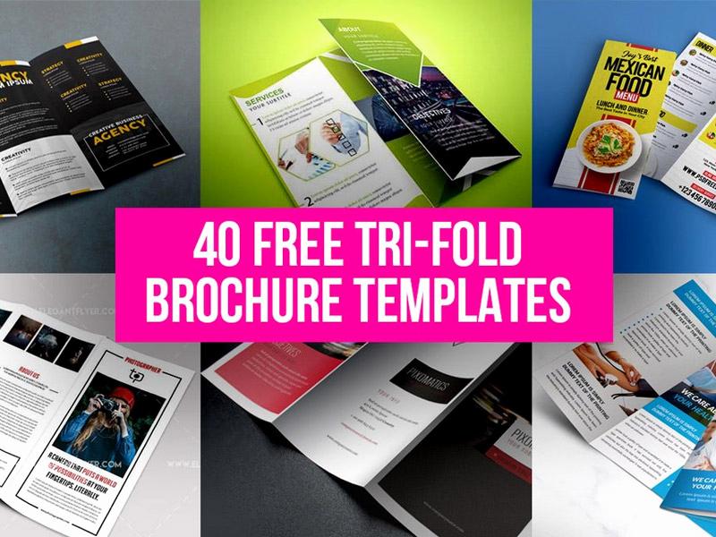 Free Tri Fold Brochure Template New 40 Free Tri Fold Brochure Templates Free Psd