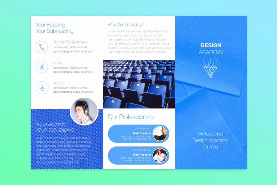 Free Tri Fold Brochure Template New Free Publisher Templates for Mac