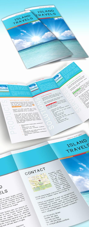 Free Tri Fold Brochure Template New Free Tri Fold Brochure Template