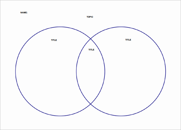 Free Venn Diagram Template Awesome Free Printable Venn Diagram – Beginning Of Year Activity