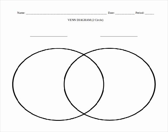 Free Venn Diagram Template Beautiful 7 Microsoft Word Venn Diagram Templates