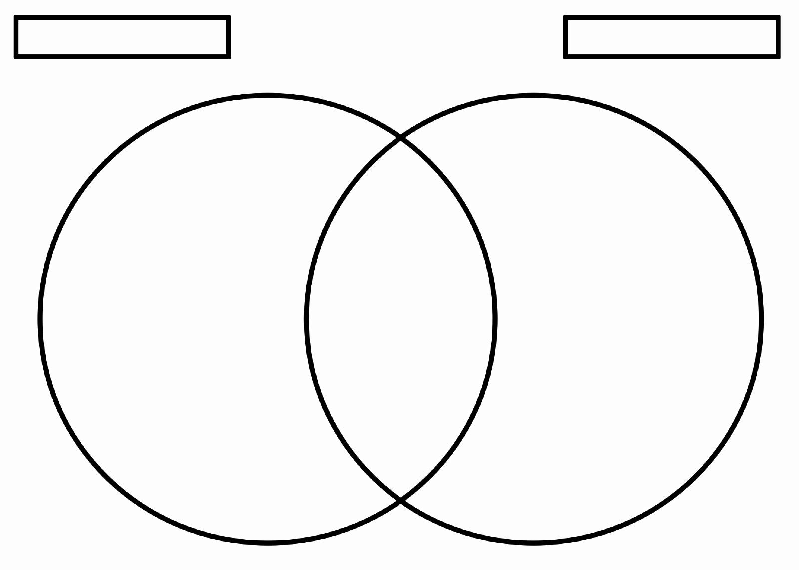 Free Venn Diagram Template Unique Free Blank Venn Diagram Template