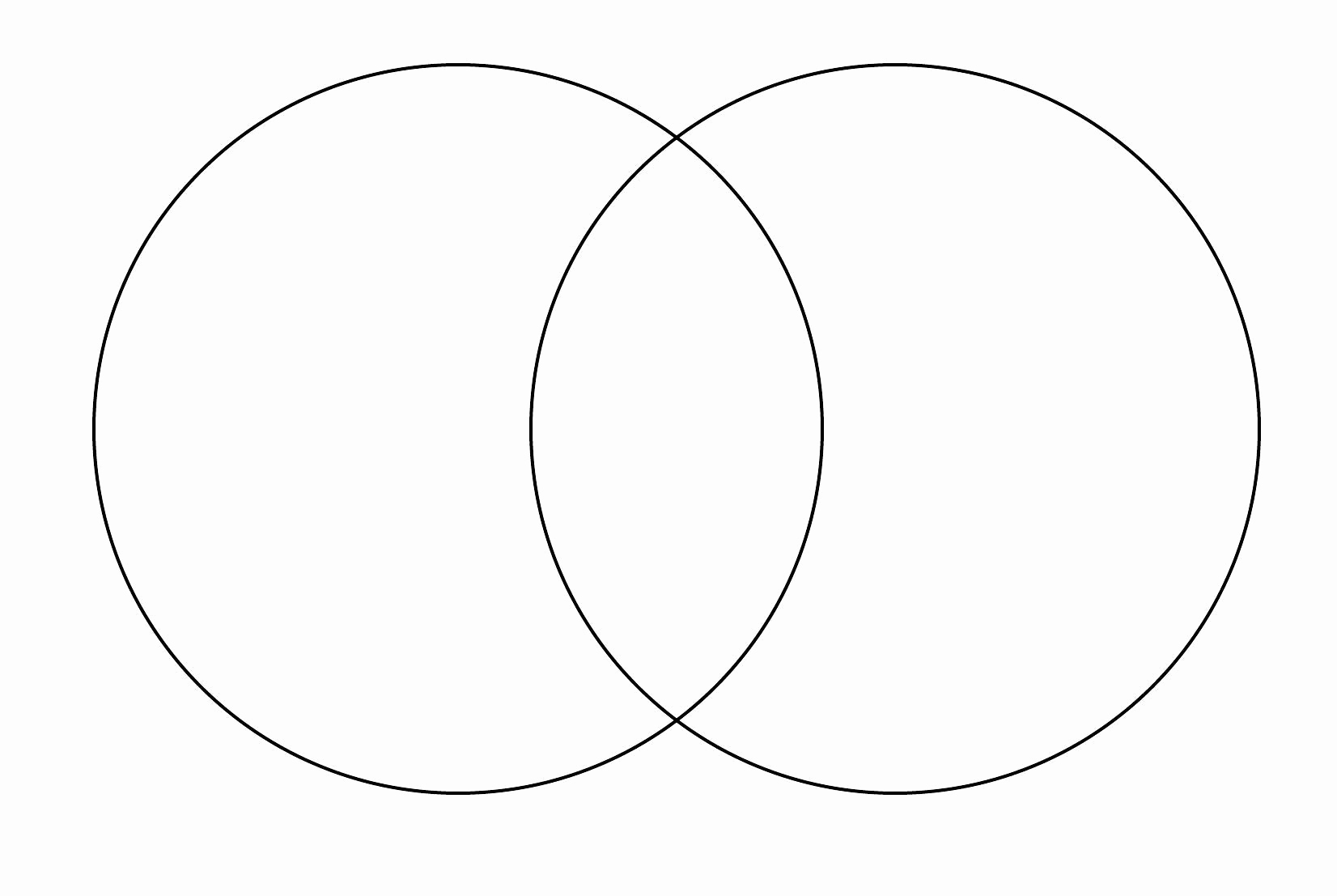 Free Venn Diagram Template Unique Line Venn Diagram Maker