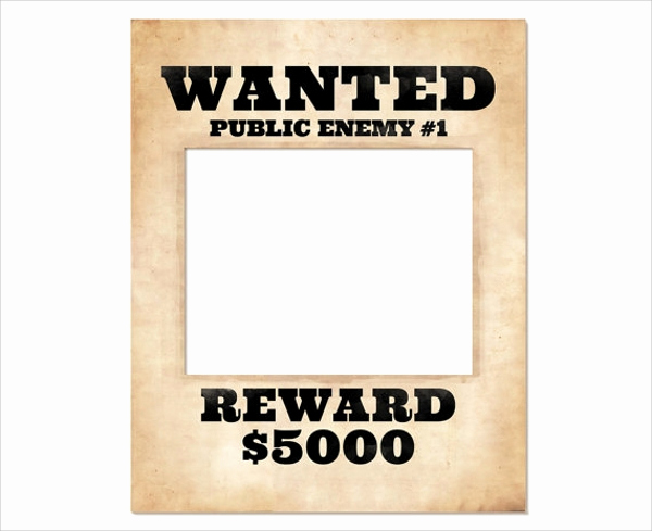 Free Wanted Poster Template Awesome Wanted Poster Template 20 Download Documents In Psd