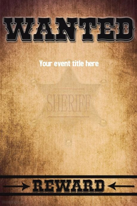 Free Wanted Poster Template Best Of A Free Online Poster Maker tool with Thousands Of
