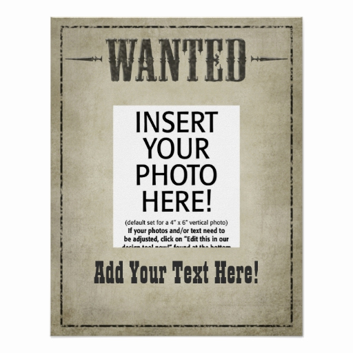 Free Wanted Poster Template Best Of Wanted Poster Template