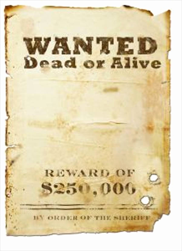 Free Wanted Poster Template Inspirational 18 Wanted Poster Design Templates In Psd