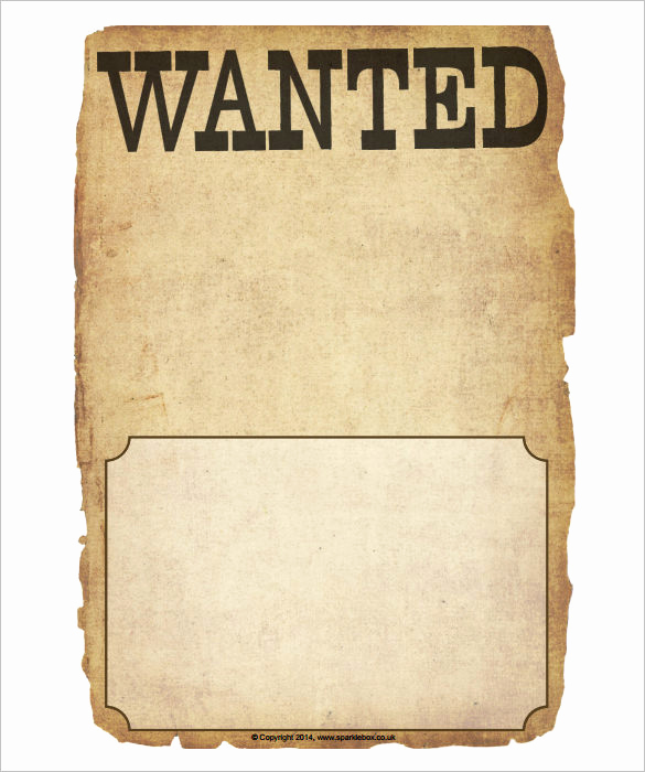 Free Wanted Poster Template Lovely Wanted Poster Template 34 Free Printable Word Psd
