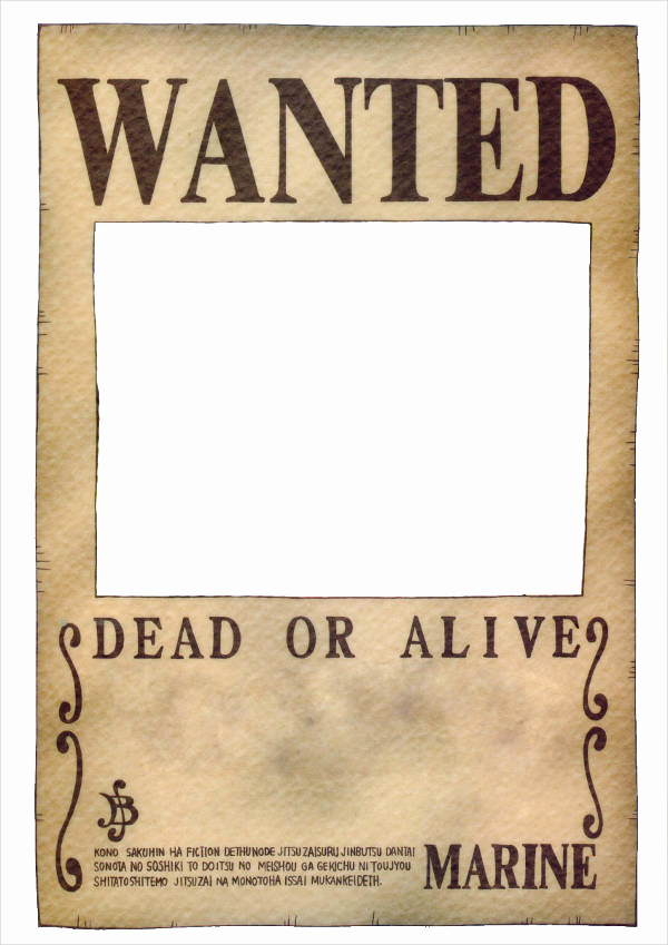 Free Wanted Poster Template Luxury 18 Wanted Poster Design Templates In Psd
