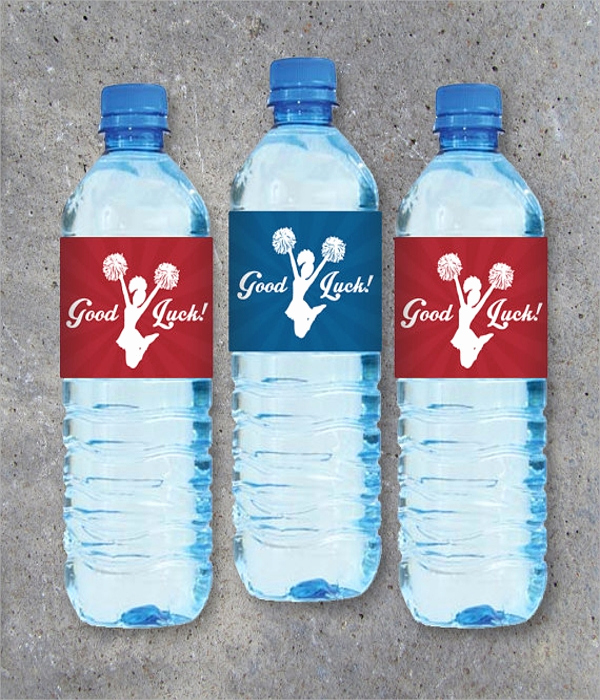 Free Water Bottle Label Template Awesome 20 Label Templates