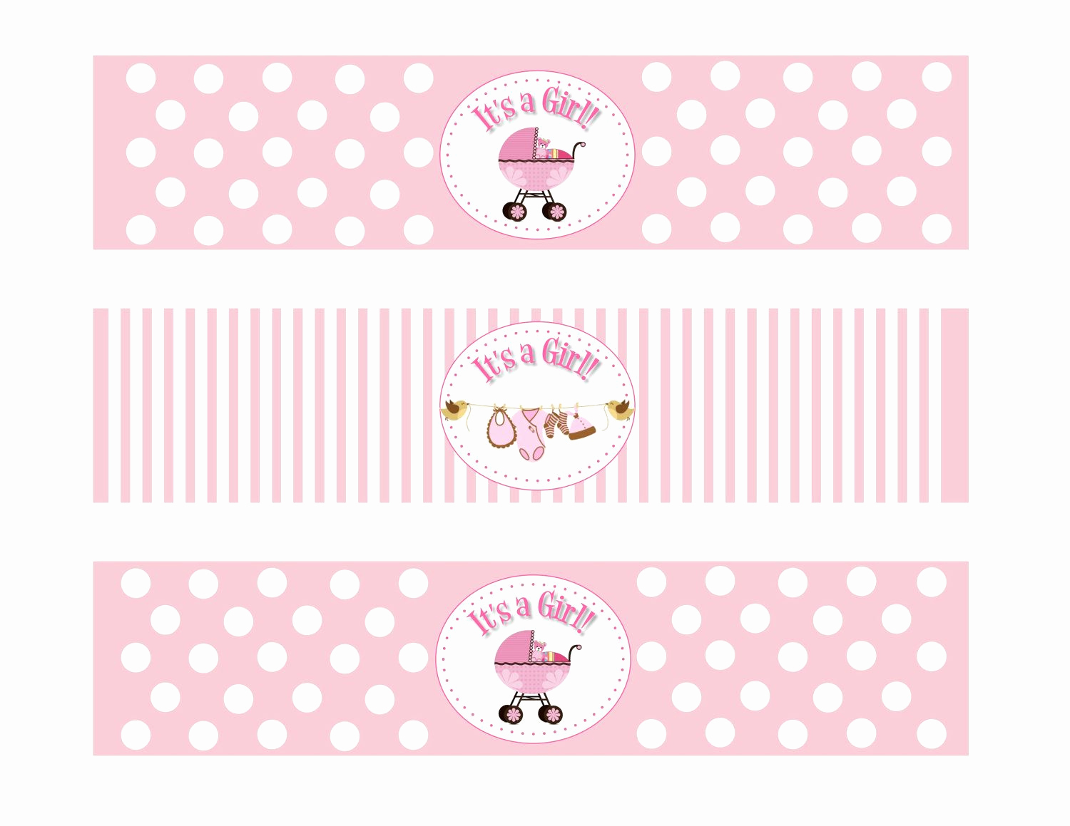 Free Water Bottle Label Template Inspirational Baby Shower Water Bottle Labels