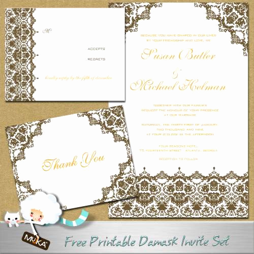 Free Wedding Invitation Printable Templates Fresh formal Wedding Invitations Free Printable Wedding Invitations