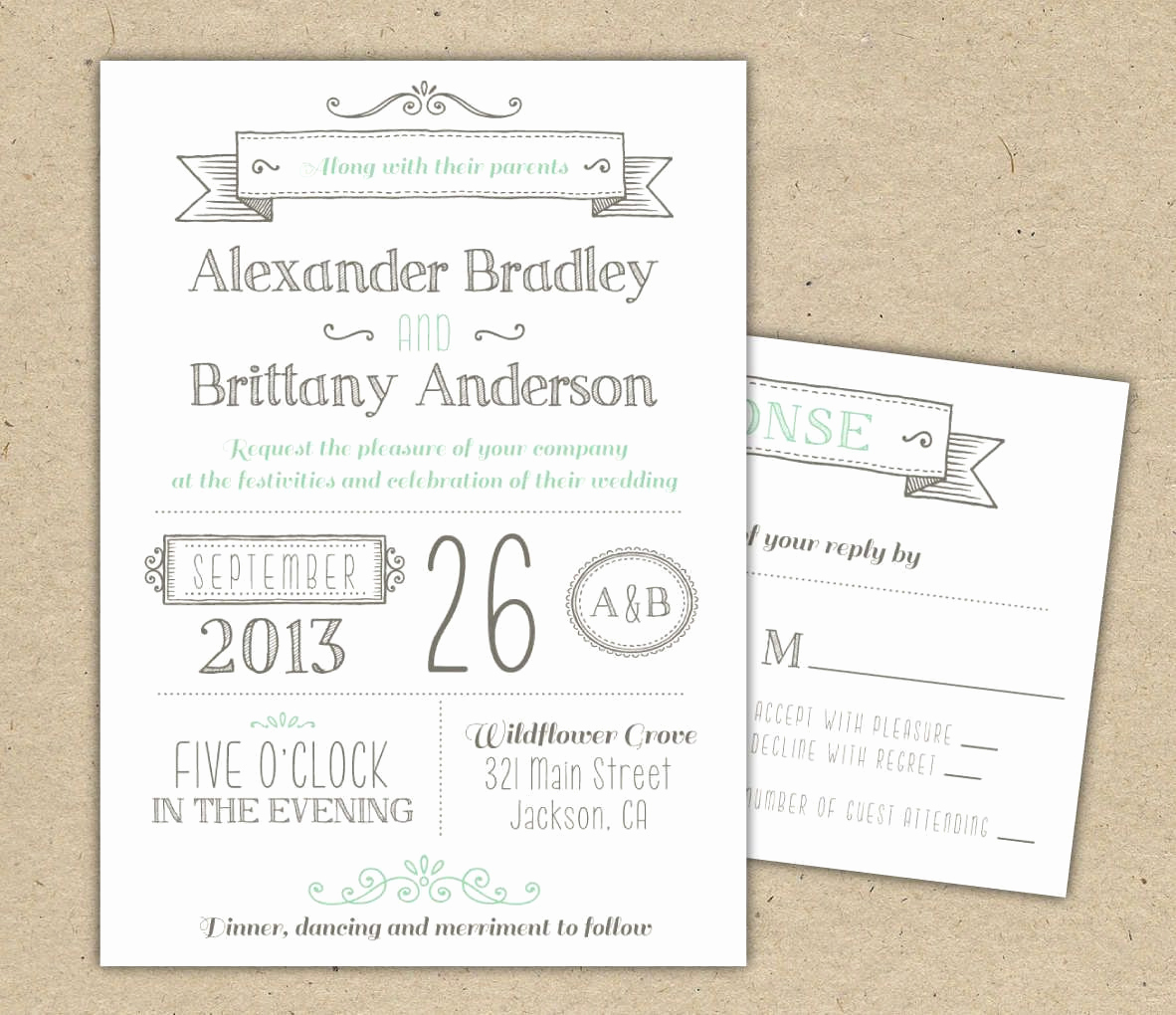 Free Wedding Invitation Printable Templates Fresh Wedding Invitations Template Free Download