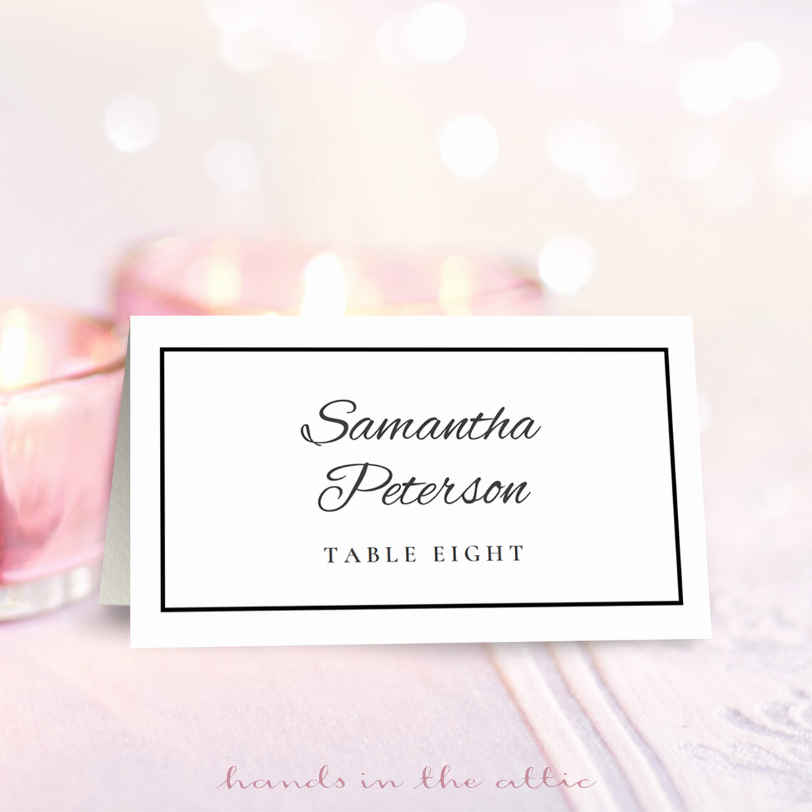 Free Wedding Place Card Template Fresh Wedding Place Card Template Free Download