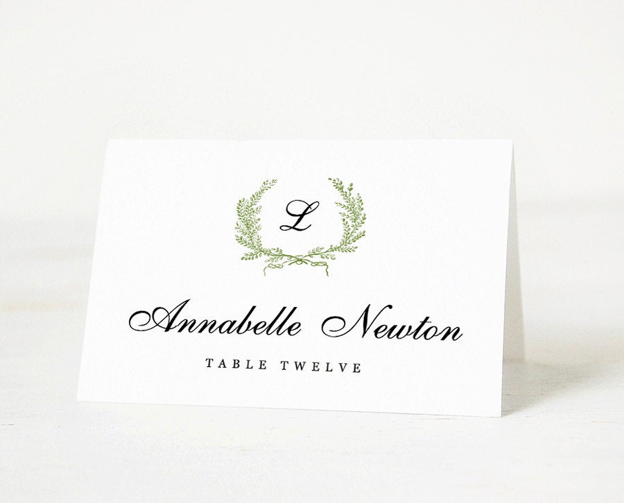 Free Wedding Place Card Template Lovely Printable Place Card Template Wedding Place Card Name Tags