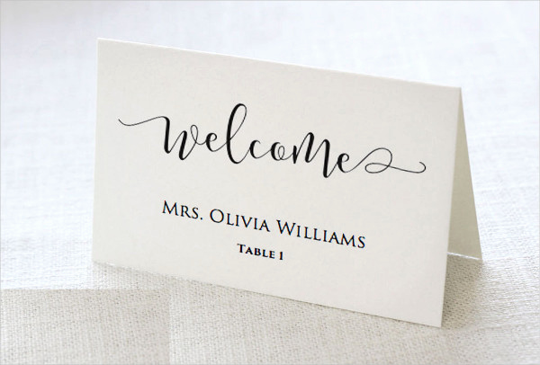 Free Wedding Place Card Template New 37 Examples Of Wedding Card Design Psd Ai Vector Eps