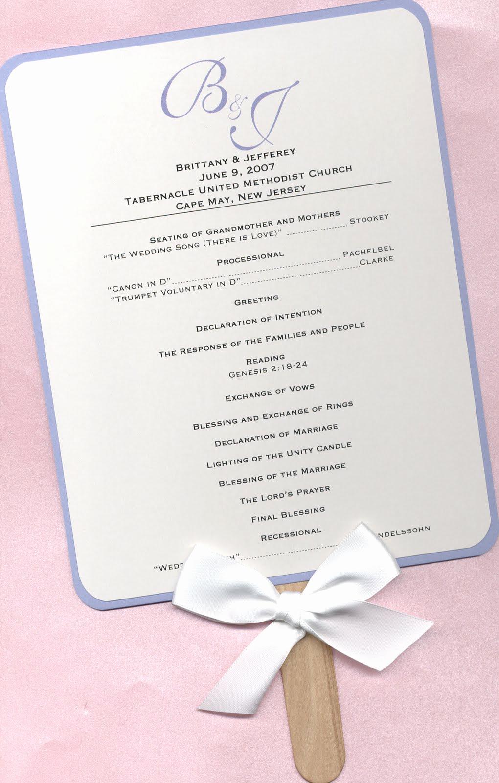 Free Wedding Program Template New Design Aholic Wedding Program Fans