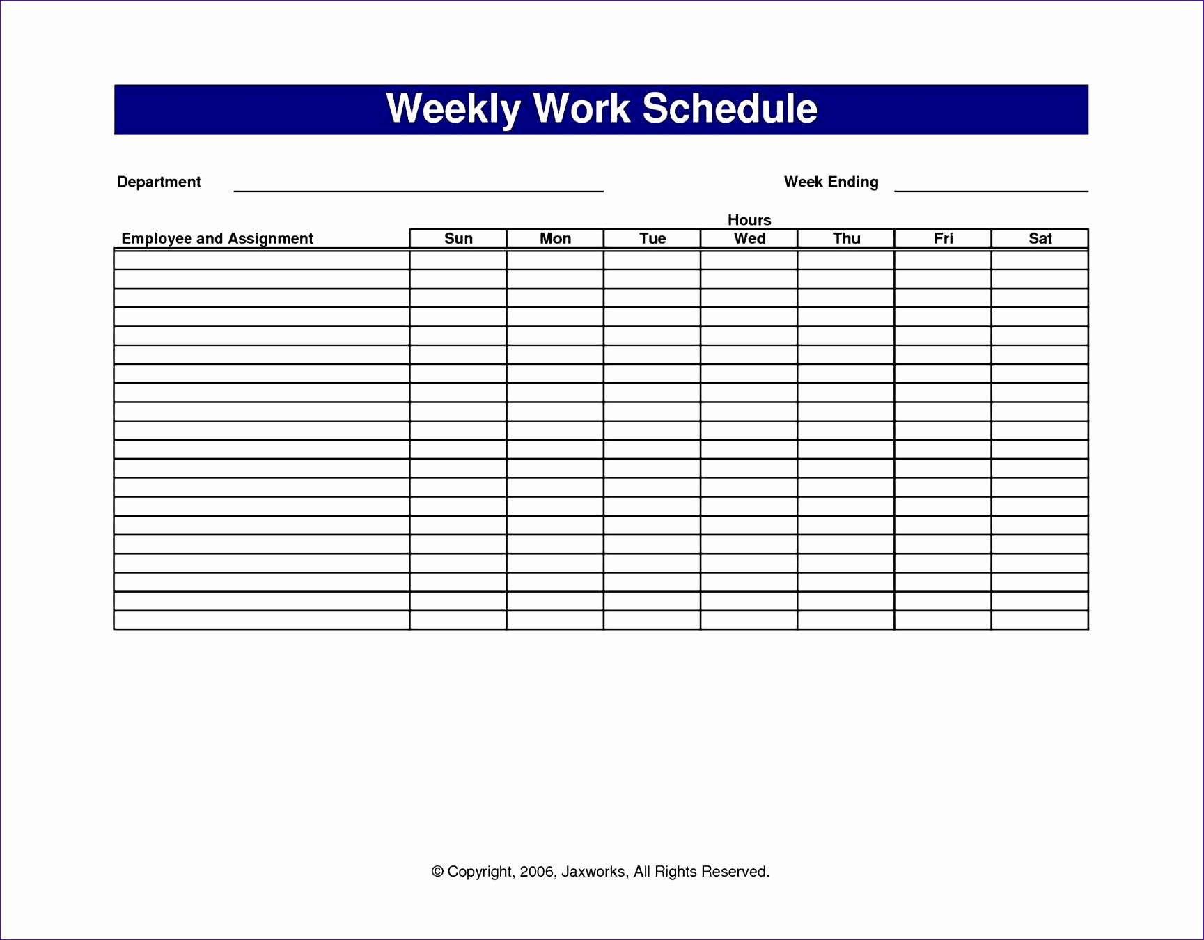 Free Work Schedule Template Best Of 12 Free Excel Shift Schedule Template Exceltemplates