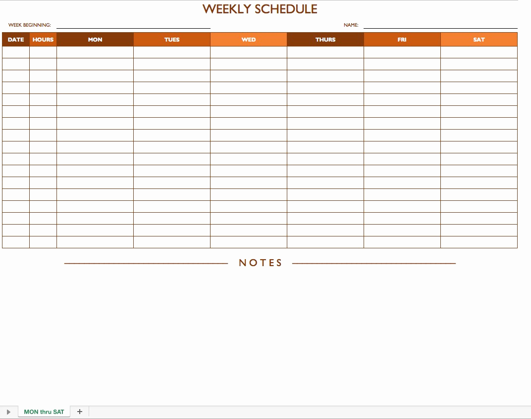 Free Work Schedule Template Inspirational Employee Work Schedule Template