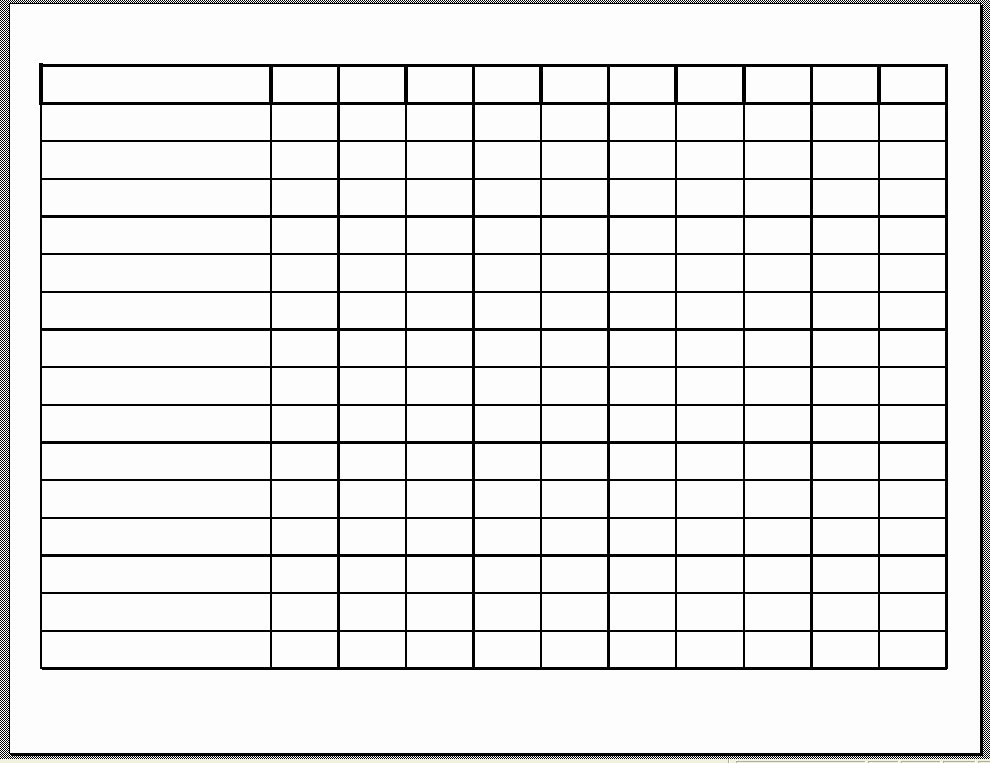 Free Work Schedule Template Unique 10 Best Of Free Printable Blank Employee Schedules