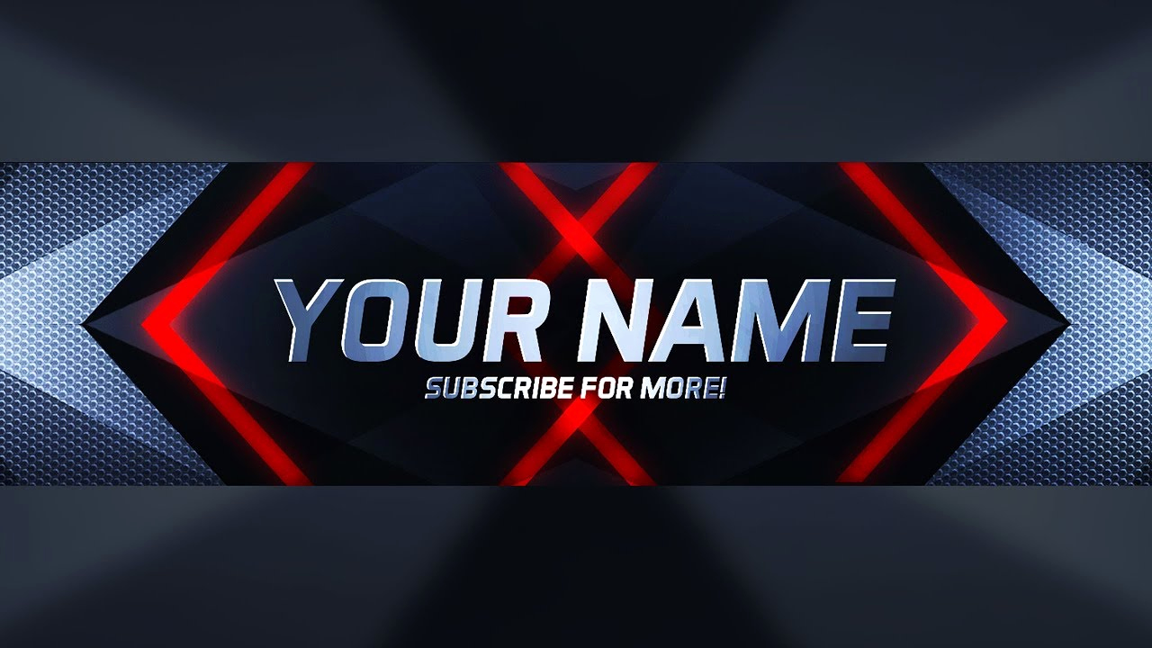 Free Youtube Banner Templates Awesome New Free Photoshop Youtube Banner Template Download