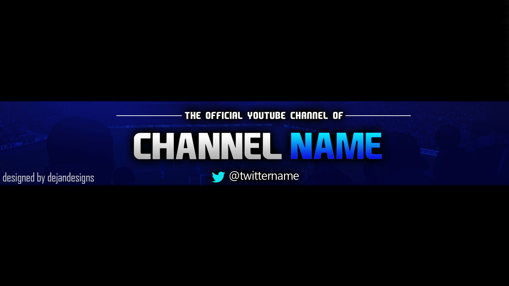 Free Youtube Banner Templates Beautiful Youtube Banner Template Psd